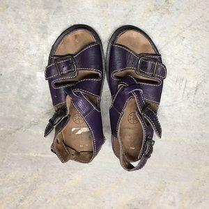 DR MARTENS Chunky Purple Sandal UK 6 US 7